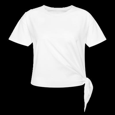 Frauen Knotenshirt individuell selbst gestalten