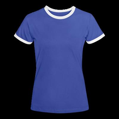 Frauen Kontrast T-Shirt individuell selbst gestalten