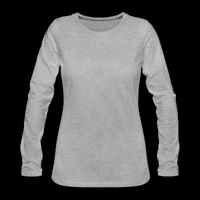 Frauen Premium Langarmshirt individuell selbst gestalten