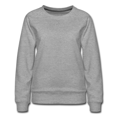 Frauen Premium Pullover individuell selbst gestalten