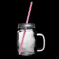 Henkelglas mit Schraubdeckel individuell online selbst gestalten