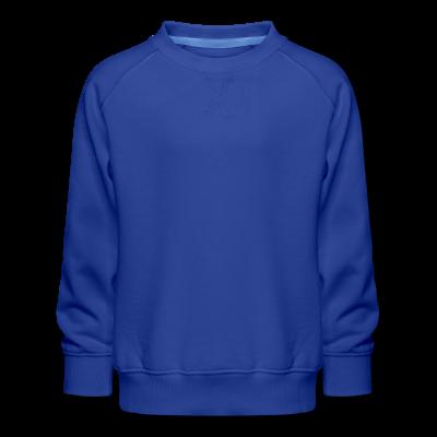 Kinder Premium Pullover individuell selbst gestalten mit dem Designtool