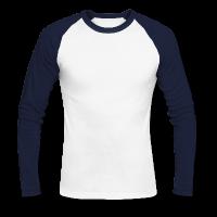 Männer Baseballshirt langarm individuell gestalten