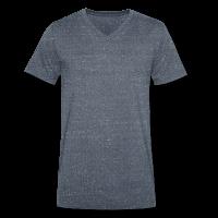 Männer Bio T-Shirt V-Ausschnitt Stanley-Stella individuell selbst gestalten