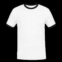 Männer-Kontrast T-Shirt individuell selbst gestalten