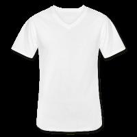 Männer T-Shirt klassisch V-Ausschnitt individuell selbst gestalten