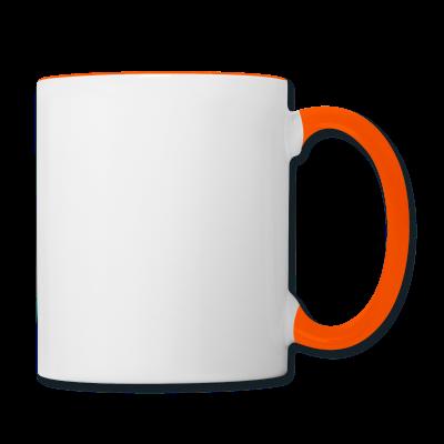Tasse zweifarbig individuell online selbst gestalten