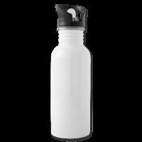 Trinkflasche integrierter Trinkhalm individuell online selbst gestalten