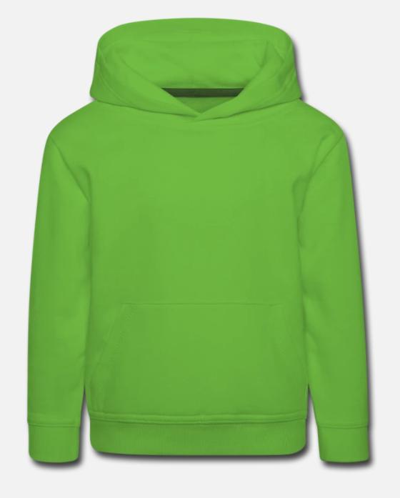 Kinder Premium Hoodie individuell selbst gestalten mit dem Designtool